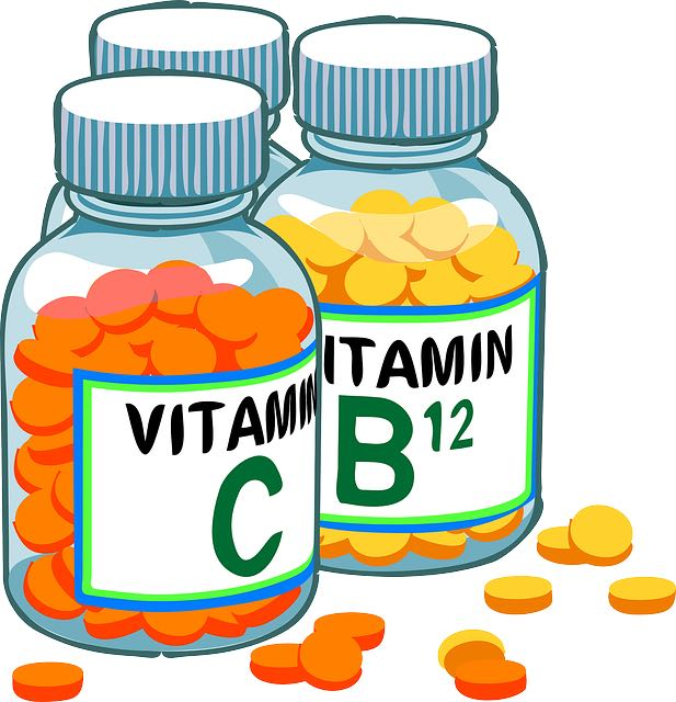 Vitamines C et B