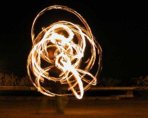 jonglage feu